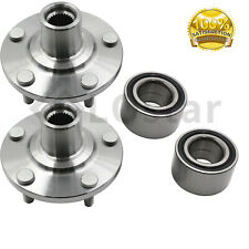 Pair(2) Front Wheel Hub & Bearing Assembly Fits 2004-2009 Toyota  Camry 2.4L