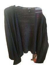 Torrid 4 Open Front Cardigan Black Long Sleeve Light Weight
