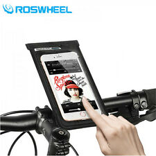 Touchscreen Bike Cycling Bicycle Mobile Cell Phone Bag Pouch Holder Pannier Case