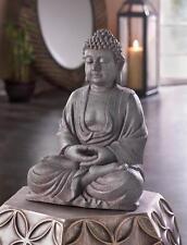 "large 12"" outdoor Thai BUDDHA Zen Meditation garden peace sitting statue Hindu"