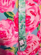 NWT Lilly Pulitzer Silk Tie Honda Classic PGA Golf Legends Club Seasalt @stjude