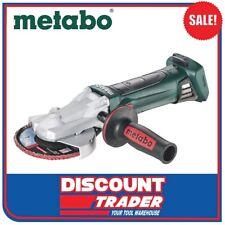 Metabo 18V Cordless Flat-Head Angle Grinder 125mm - WF 18 LTX 125 SK - 601306890