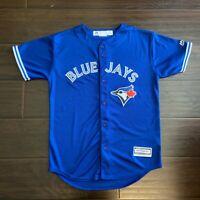 Majestic MLB Toronto Blue Jays Josh Donaldson Youth Large Jersey Away