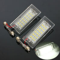 Pair Error Free LED Number License Plate Lights Lamp For BMW X5 E53 X3 E83 03-10