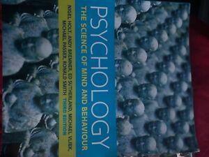 psychology the science of mind and behaviour, Nigel Holt et al. Third edition