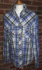 SoulCal Cotton Check Short Size Large
