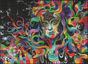 ALMAGAMATION BY CALLIE FINK PSYCHEDELIC BLOTTER ART - TRIPPY PSYCHEDELIC