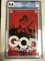 God Country (2017)  #1  (CGC 9.8) Donny Cates  2nd Print Rarer