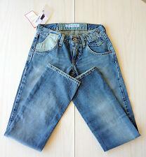 Jean jeans fille bleu coupe droite T10 FORNARINA blue straight cut jeans EU 25