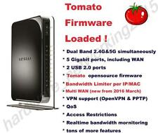 Netgear WNDR4500V2 Dual Band Wireless N900 Router Tomato VPN firmware Multi WAN