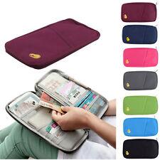 Travel Accessories Passport Holder Wallet Organizer Bag Case Pouch