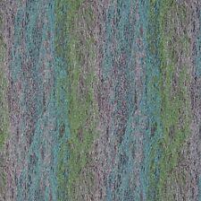 Art Deco Sand Art Sculpture Blue Purple Green Designer Upholstery Fabric 1384320