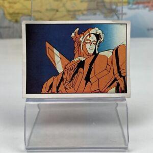 SHIPS SAME DAY Voltron #144 Mini Picture Card Sticker Figurine Panini 1984 Rare