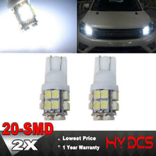 2X T10 20-SMD 2825 W5W LED White Super Bright Car Wedge Lights Bulb - 194 168