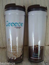 NEW! Starbucks Coffee Global City Tumbler Country GREECE, with tag! :)