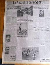 GAZZETTA DELLO SPORT   1942 N° 132  FANFULLA PESCARA