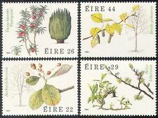 Ireland 1985 Irish Trees/Plants/Nature/Flowers/Fruit/Leaves 4v set (n41293)