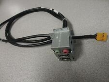 Dell U036D Inspiron 518 545 Tower Front USB I/O Audio Panel Cable Assembly New