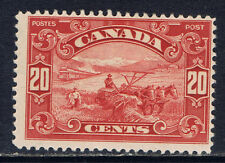 Canada #157(5) 1929 20 cent Harvesting Wheat MLH CV$100.00