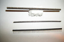 (10x) Samtec SS-140-G-2 40 Pinn Single Row Header Socket Strips, Break Away NEW