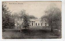 PARK HOUSE, DEESIDE: Aberdeenshire postcard (C14652)