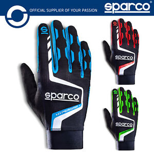 New! 2021 Sparco HYPERGRIP+ Gaming Gloves for Racing Sim Simulators in 3 Colours