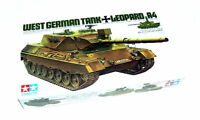 Tamiya Military Model 1/35 LEOPARD A4 West German Tank Scale Hobby 35112
