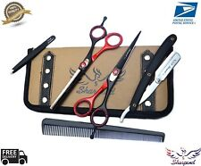 Salon Hair Cutting Thinning Scissors Barber Shears Hairdressing Accessories Set