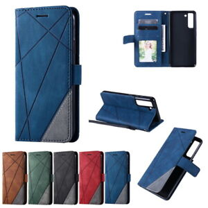 Case For Samsung S20 S21FE A32 A52 A72 A71 A51 PU Leather Wallet Card Slot Cover