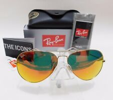Rayban Classic Aviator Pilot ORB3026 112-69 62mm(Large) gold/red mirror Sunglass