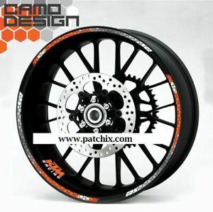 KTM 690 990 1190 1290 Duke SuperDUKE wheel decals stickers rim stripes NEW!!!