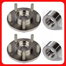 FRONT WHEEL HUB & BEARING FOR MAZDA 3 2005-2008 W/OUT ABS PAIR FAST SHIPPING