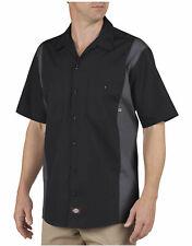 Dickies Mens Short Sleeve Industrial Color Block Shirt Ls524