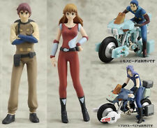 CM'S Mospeada Figure Collection Full 4 Pieces CMS Macross Robotech RARE