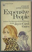 Expensive People by Joyce Carol Oates (1970 Crest pb - Gothic Horror, Them, VG)