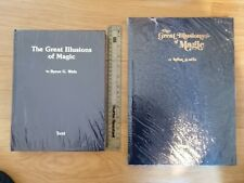 Great Illusions of Magic Byron Wels Rare Collectable Complete 2 Volume Set New!