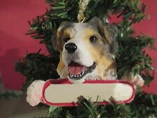 Australian Shepherd #53 Christmas Tree Ornament