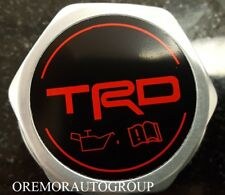 Toyota Scion iM TRD Forged Billet Oil Cap PTR35-00110 Genuine OEM