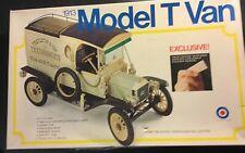 "Entex 1913 Ford Model T Van 1/16 Scale Japan Model Kit 8497 Over 9 1/2"" Long"