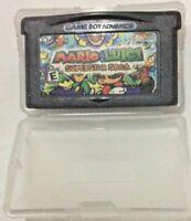 MARIO + LUIGI SuperStar Saga Nintendo Gameboy Advance Cartridge