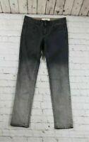 Stella McCartney Gray Faded Ombre Slim Skinny Jeans Women's Size 25