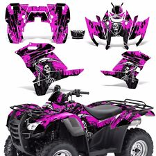 Graphic Kit Honda Rancher 420 ATV Quad Decals Sticker Wrap Parts 07-13 REAP PINK