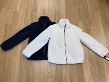 NEW-WOMENS TOMMY HILFIGER FAUX FUR ZIP UP JACKET, XSMALL,...