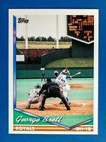 George Brett #180 (1994 Topps) Baseball Card, Kansas City Royals, HOF