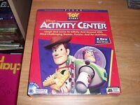 Disney's Toy Story Activity Center For Kids Games (WIN/MAC CD-ROM) NEW IN BOX