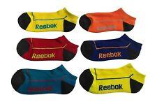 Reebok Unisex Kids Low Cut Socks 6 Pack Colorful and Fun 8ddf2d9f6