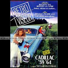 RETROVISEUR N°48 CADILLAC 1959-1964 RENAULT PRAIRIE 4X4 BUGATTI 57C SIMCA 1000