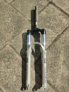 Rockshox Tora 302 Suspension Forks Bicycle 26 inch Untested silver For Parts