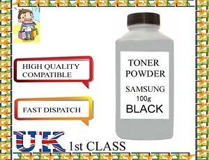REFILL TONER POWDER 100g  for SAMSUNG TONER CARTRIDGE