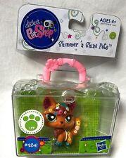 Littlest Pet Shop Shimmer N Shine Fox Glitter Figure #2341 NEW retired